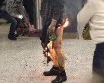 خودسوزی وحشتناک مرد جوان در مترو به زخمی شدن ۱۷ تن دیگر انجامید + تصاویر