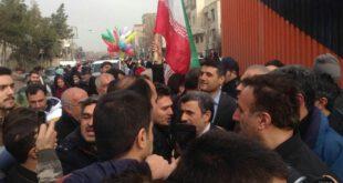تصاویر: حضور احمدی نژاد در راهپیمایی حاشیه ساز شد
