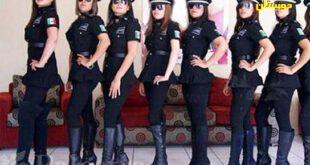پلیسهای زنی که باید مثل مانکنها جذاب باشند+عکس