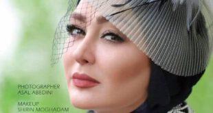 الهام حمیدی وقتی مدل آرایشی میشود! +تصاویر