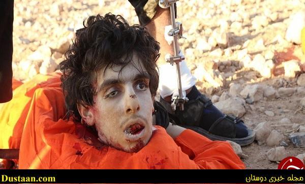 www.dustaan.com جلاد بی رحم داعش سر برادر خود را برید / عکس +۱۸