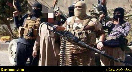 """قصاب داعشی با """"مسلسل M2"""" در لیبی+ تصاویر"""