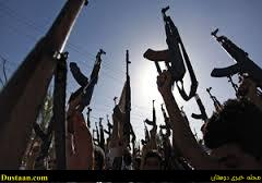 www.dustaan.com هلاکت ۳۰ تروریست در حمله داعش به چندین پاسگاه پلیس در افغانستان