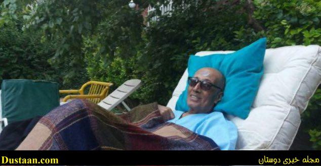 www.dustaan.com اولین عکس کیارستمی بعد از سفر به پاریس