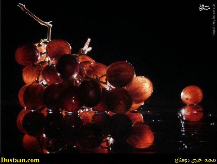 www.dustaan.com نقاشی های فوق العاده زیبا از جنس واقعیت! +تصاویر