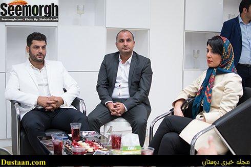 عکس جدید سام درخشانی و همسرش عسل امیرپور