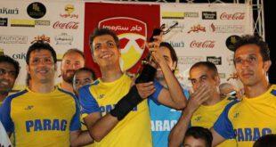 جام قهرمانی در دستان کاپیتان عادل فردوسی پور! +عکس