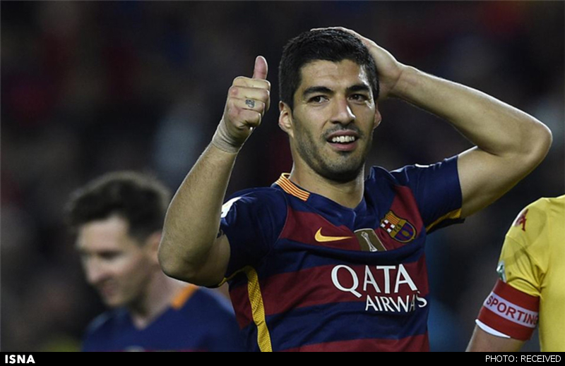 www.dustaan.com سوارس به عنوان بهترین بازیکن بارسلونا انتخاب شد