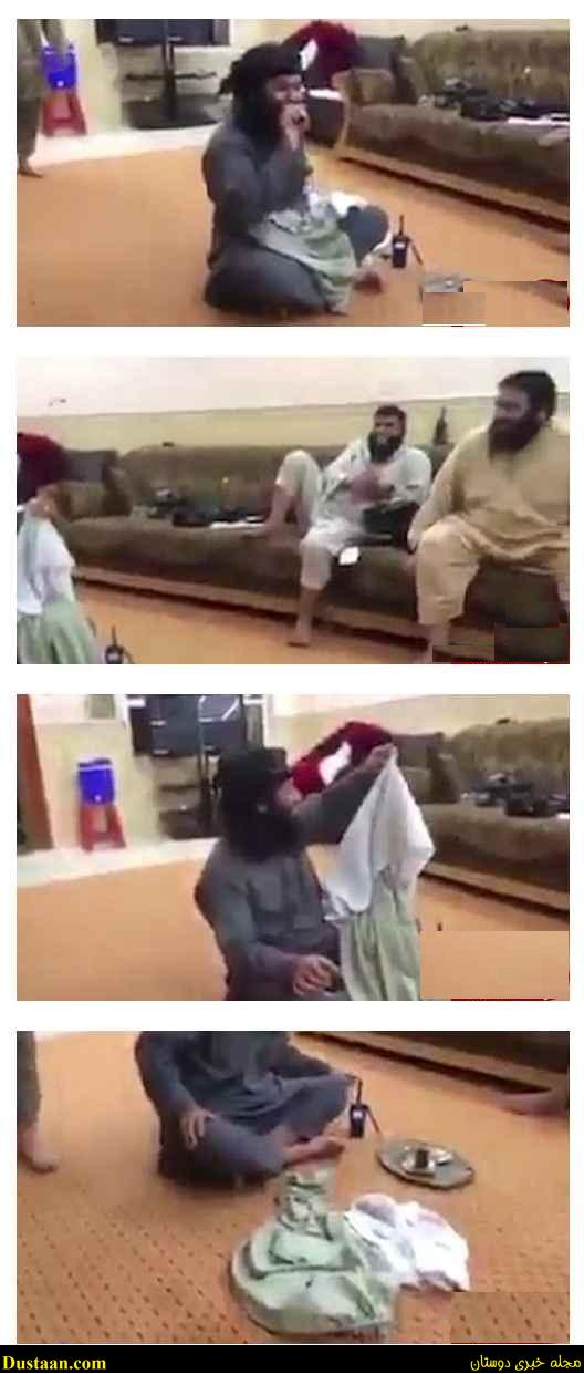 خنده های شیطانی تروریست های داعش هنگام تعرض به یک دختر +تصاویر