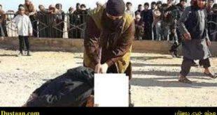 گردن زنی گروهی جوانان عراقی در ملاء عام توسط داعش
