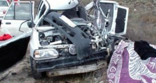 ۷ کشته در تصادف مرگبار پراید با پیکان وانت در محور قاین