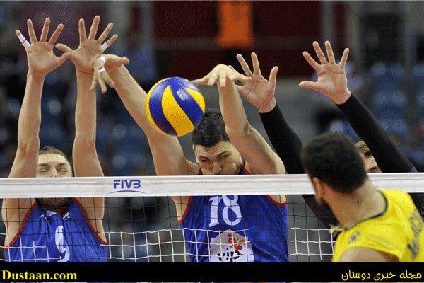 www.dustaan.com صربستان با پیروزی بر برزیل قهرمان لیگ جهانی والیبال شد