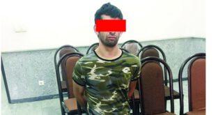 بازداشت شرور سابقه دار معروف به «محمود گولاخ»