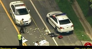 قتل افسر پلیس در حین نوشتن جریمه رانندگی