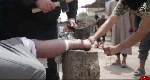 جنایات وحشتناک پلیس داعش در سوریه/ گردن زدن , سنگسار و قطع عضو به خاطر هیچ +تصاویر