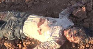 تصاویری از قتل عام بیرحمانه ۱۲۰ سوری توسط جنگنده های فرانسه