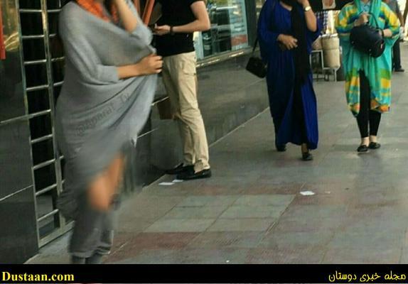 www.dustaan.com زنان و دختران نیمه برهنه در خیابان های تهران