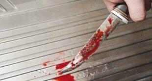 قتل بیرحمانه همسر با چاقو در مقابل فرزندان