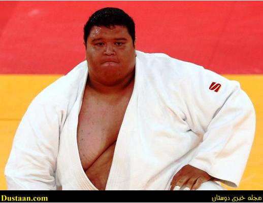 www.dustaan.com سنگین ترین ورزشکار تاریخ مسابقات المپیک +عکس