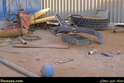 کشف کارخانه ساخت و تولید بمب داعش در لیبی +تصاویر
