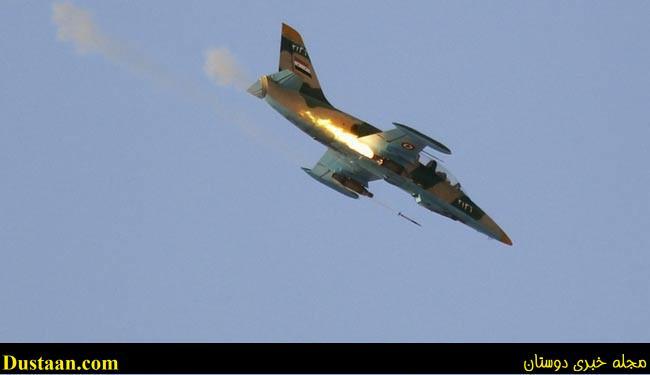 خسارت سنگین جنگنده های سوری به گروهک وابسته به ال سعود