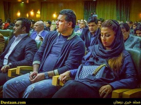 www.dustaan.com علی دایی و همسرش در یک مراسم خیریه +عکس