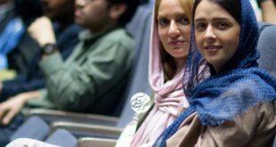 تصاویر حضور مهناز افشار در اکران خصوصی «من»