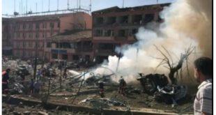 انفجار شدید در چین بیش از ۱۰۰ کشته و زخمی برجای گذاشت