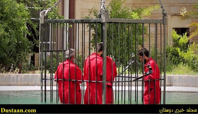 www.dustaan.com شیوه جدید و وحشیانه داعش برای اعدام/ غرق کردن ۱۴ عراقی در اب +عکس