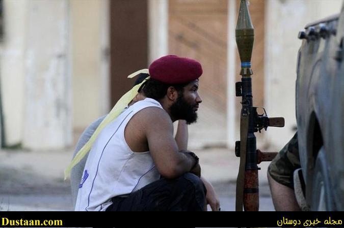 آخرین نفس های داعش در شهر سرت لیبی +تصاویر