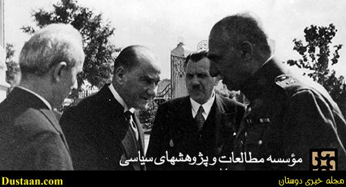 تصاویر سفر رضاشاه به ترکیه