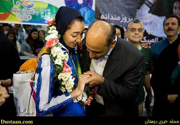 تصاویر: بازگشت تیم ملی تکواندو به ایران