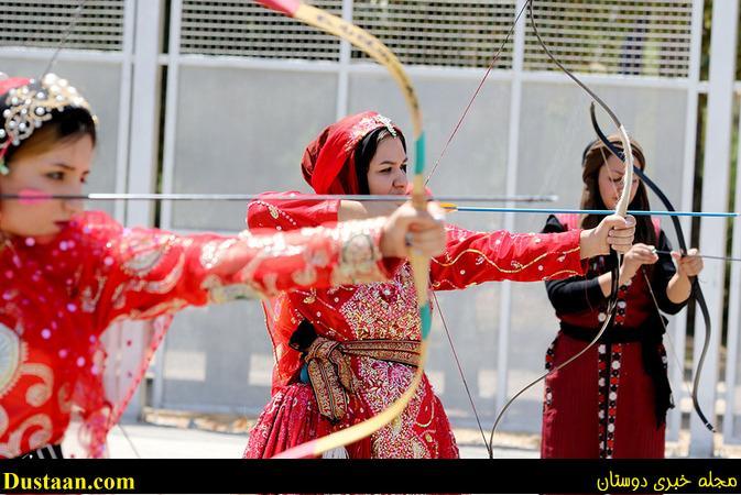تصاویر: مسابقه متفاوت تیراندازی زنان شیرازی