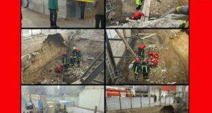 کارگر ۴۰ ساله مشهدی زنده زنده دفن شد +تصاویر