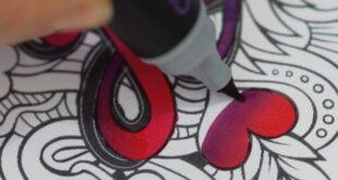 قلمی که جوهر آن تغییر رنگ می دهد