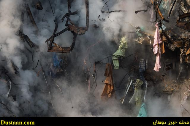 www.dustaan.com شمار مصدومان فاجعه پلاسکو به ۱۹۴ نفر رسید