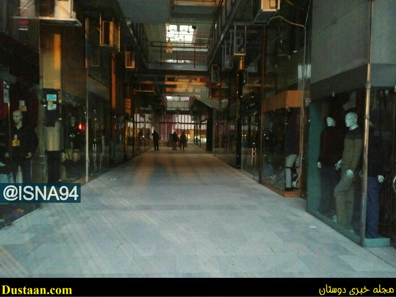 پاساژ کویتی ها بعد از فاجعه ساختمان پلاسکو +تصویر