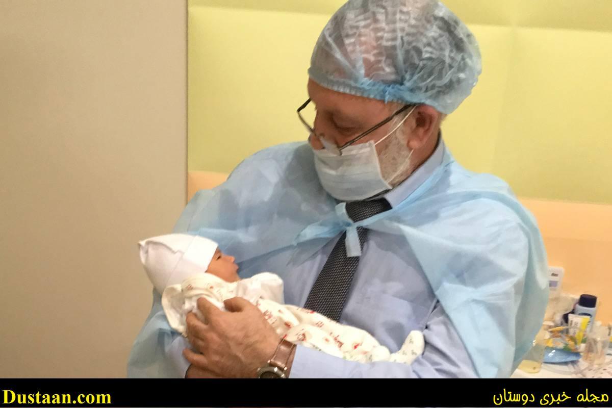 www.dustaan.com تولد یک نوزاد با سه پدر و مادر! +تصاویر
