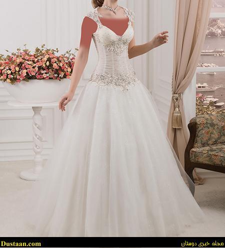 www.dustaan.com مدل های شیک و جدید لباس عروس +تصاویر