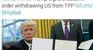 ترامپ با امضای لغو دو قانون مهم دوره اوباما، یکی از وعده هایش را عملی کرد!