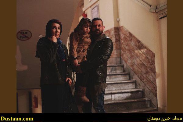 محمد رضا گلزار و مهناز افشار در سریال «عاشقانه» +تصاویر