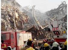 پیکر سومین آتشنشان زیر آوارهای پلاسکو پیدا شد/ ۱۲ آتشنشان هنوز زیر آوارند