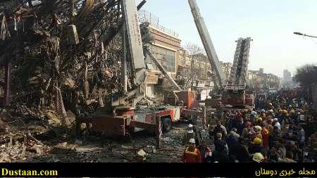 www.dustaan.com مراسم تشییع شهدای آتش نشان به تعویق افتاد