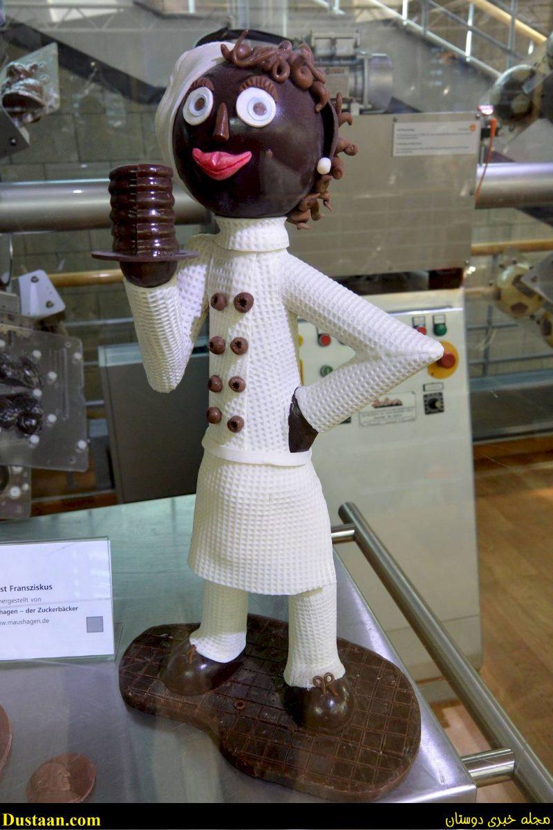 www.dustaan.com تصاویری جالب از موزه شکلات در شهر کلن آلمان!