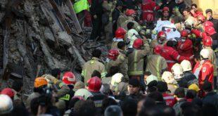 تعداد پیکرهای ارجاعی حادثه پلاسکو به کهریزک به ۱۶ نفر رسید