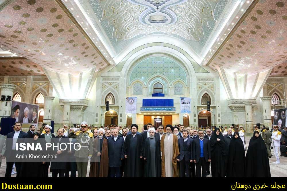 تصاویر: تجدید میثاق هیات دولت با آرمان های امام (ره)