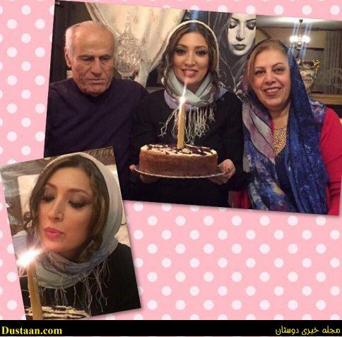 چهره نگار عابدی در جشن تولد ۴۶ سالگی اش! +عکس