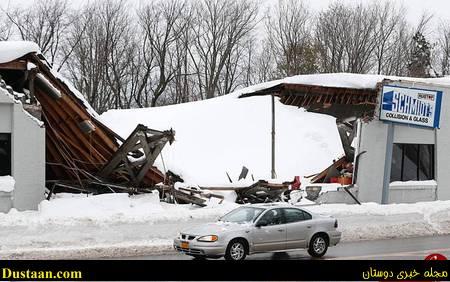 تصاویر: بارش شدید برف و کولاک نیویورک را فلج کرد