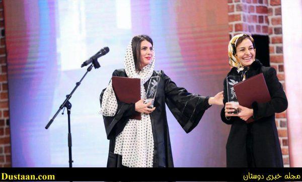 دردسر های حجاب لیلا حاتمی در اختتامیه جشنواره! +عکس