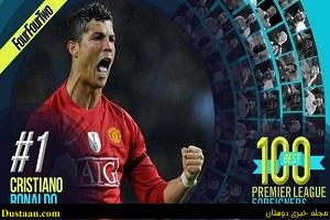 www.dustaan.com کریس رونالدو، برترین بازیکن خارجی تاریخ لیگ جزیره شد
